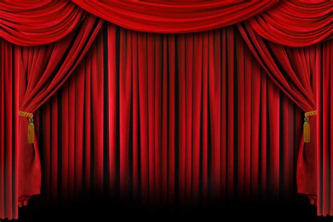 red theater curtain lessons from the stage let the dog in