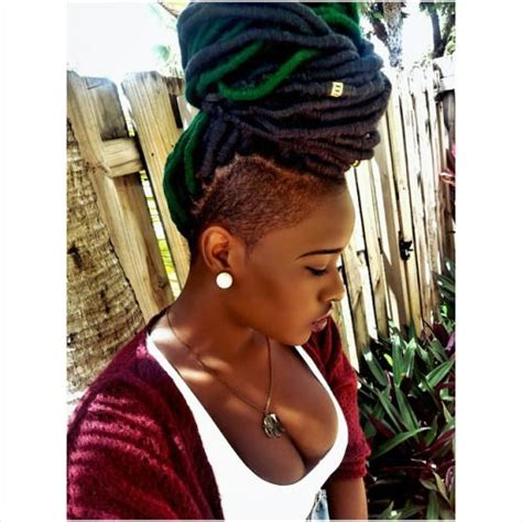 shaved side dreadlocks 207 best images about braids with shaved sides on
