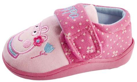 peppa pig slipper boots peppa pig slippers 3d novelty fleece faux fur