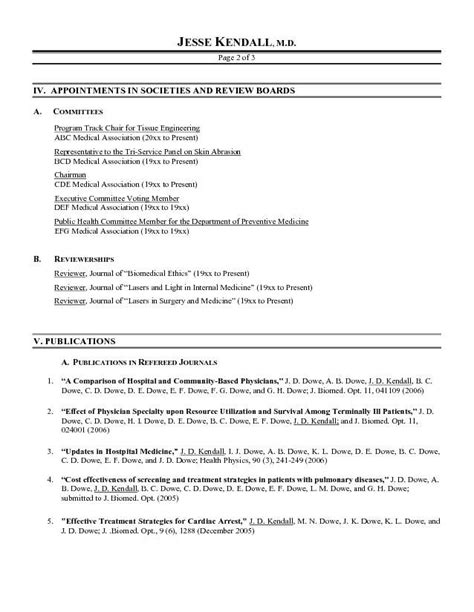 Example Chronological Resume by Medical Resume Template Medical Student Cv Cv
