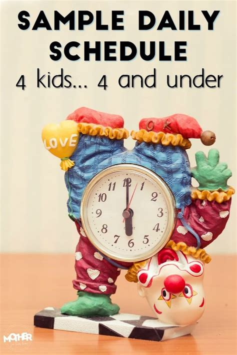 17 best ideas about toddler daily schedules on
