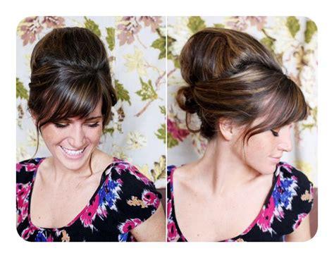 vintage loving girls    beehive hairstyles