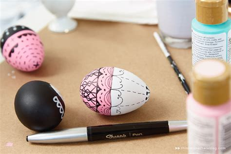 Decorate Project Diy Hand Painted Easter Egg Ideas From Hallmark Artists