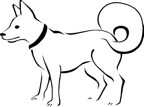 line dogs line drawing of animals search cnc ideas search