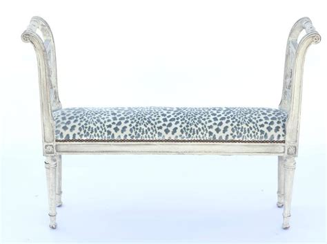 narrow bench seat narrow neoclassical style window seat bench for sale at