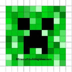Creeper Template by Minecraft Pixel Templates Creeper
