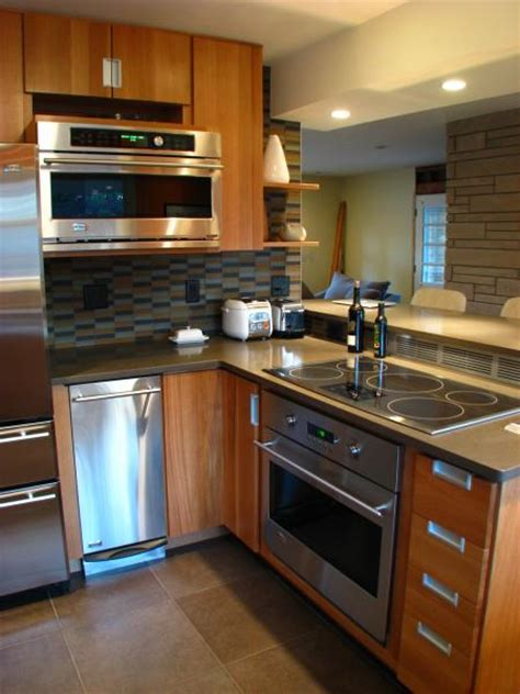 tri level home kitchen design herndon design tri level mid century modern kitchen remodel
