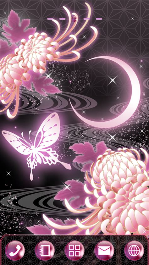 live butterfly themes moonlight butterfly theme android apps on google play