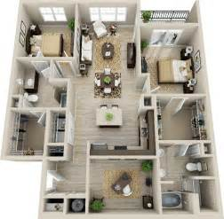3d 2 bedroom apartment google search deco pinterest