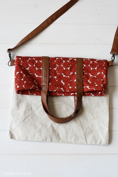 Slingbag Stch Foldover fold tote bag pattern allfreesewing