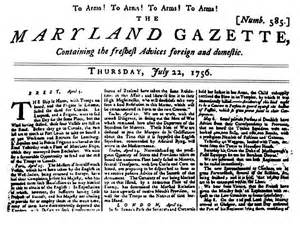 revolutionary war newspaper template how newspapers covered the and indian war