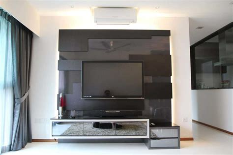 Lcd Tv Wall Cabinet Design by Bedroom Tv Unit Design Home Design
