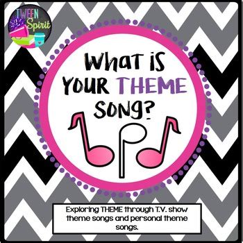 theme in literature song theme project quot what is your by tween spirit teachers