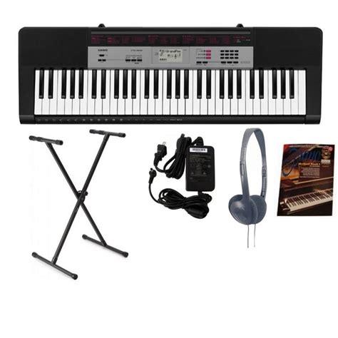 Keyboard Casio Ctk Series casio ctk 1500 portable keyboard bundle from rimmers