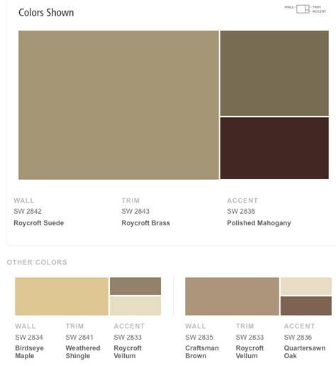 sherwin williams craftsman exterior color schemes
