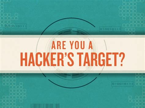 target hacks are you a hacker s target