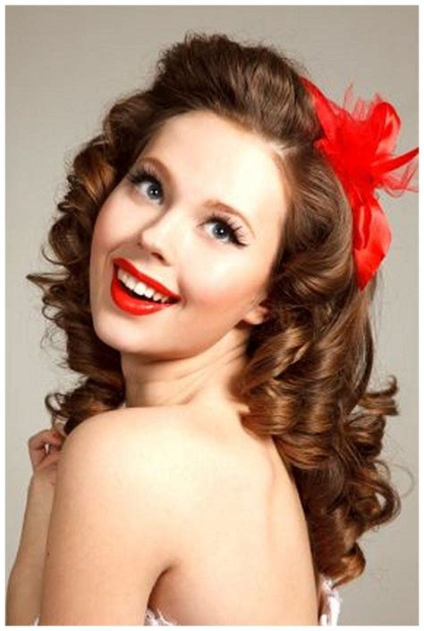 1950 Pin Up Hairstyles by 84 Best Images About 1940 S 1950 S Hairstyles On