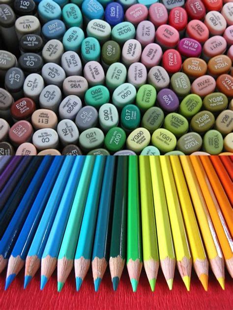 markers and colored pencils 10 reasons why markers are better than colored pencils