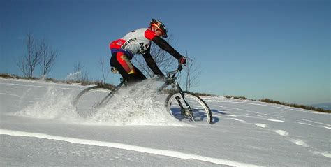 winter bicycle helpful hints for winter mountain biking actionhub