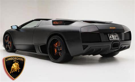Lamborghini Murcielago Matte Black Lamborghini Murcielago Lp650 4 Roadster Limited Edition