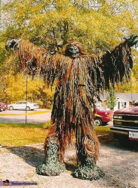 terrifying tree monster halloween costume