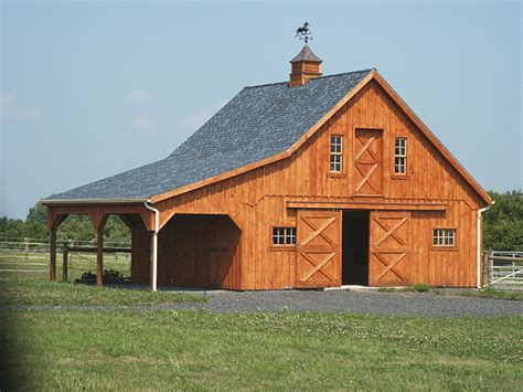 barn plans for sale center aisle horse stable