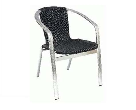 black wicker stacking chairs pub furniture bar bistro restaurant tables chairs