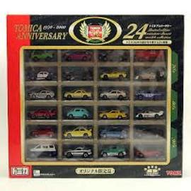 Tomica Collection 24 tomica 24th anniversary set model vehicle sets hobbydb