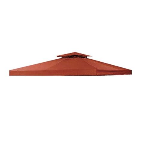 10 X 10 Universal Replacement Canopy Two Tiered by Universal 10 X 10 Two Tiered Replacement Gazebo Canopy