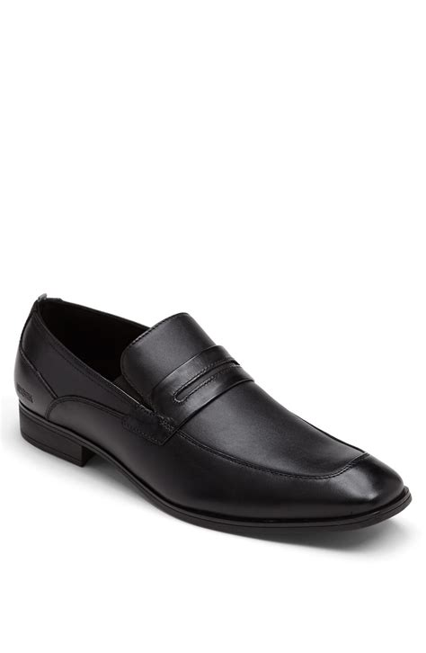 kenneth cole reaction loafer kenneth cole reaction ghost town loafer in black for