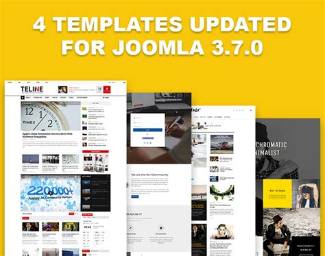 release updates on joomla templates magento themes and