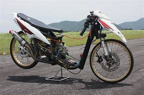 modifikasi motor custom motorbike
