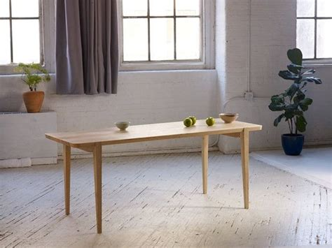 oslo dining table made in portland oregon by andrew moe