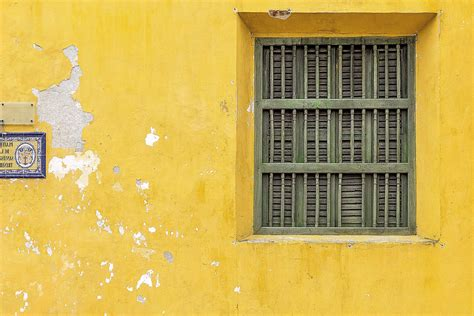 picture architecture yellow house window