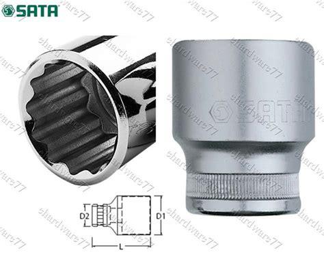 Socket 1 2 Inch 29 Mm 34322 Sata Tools sata 3 4 quot dr 12pt socket 36mm 16617