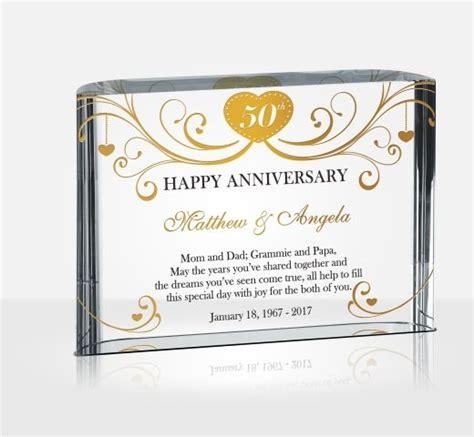 50th wedding anniversary diy gift ideas 50th golden wedding anniversary gifts diy awards