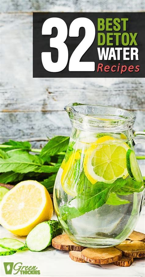Best Detox System For Your by 32 Best Detox Water Recipes Water Recipes Immune System