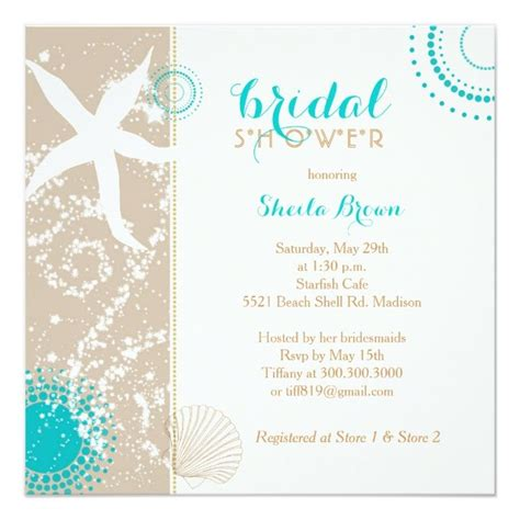 Bridal Shower Card Template Crab by Modern Bridal Shower Card Wedding