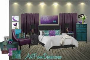 teal gray and purple bedroom ideas search