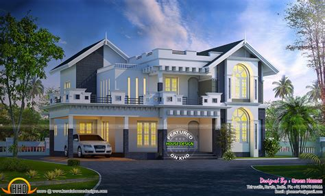 New Kerala House Plans by New Kerala House Plans For June 2015 Keralahousedesigns