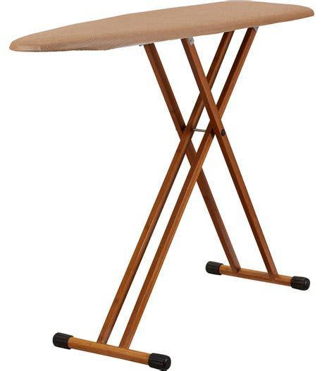 foldable ironing board in bamboo folding ironing board in ironing boards