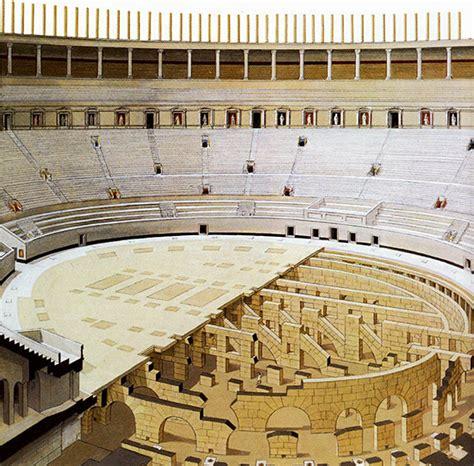 colosseo interno il colosseo romanoimpero