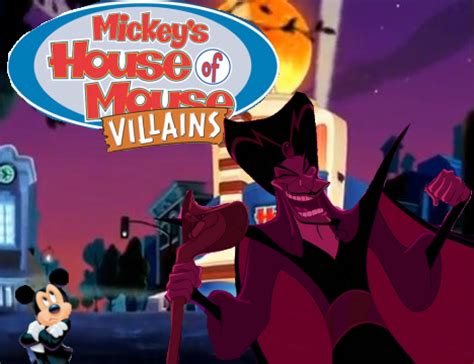 House Of Villains by Image Mickey S House Of Villains Jafar Mickey Poster Png