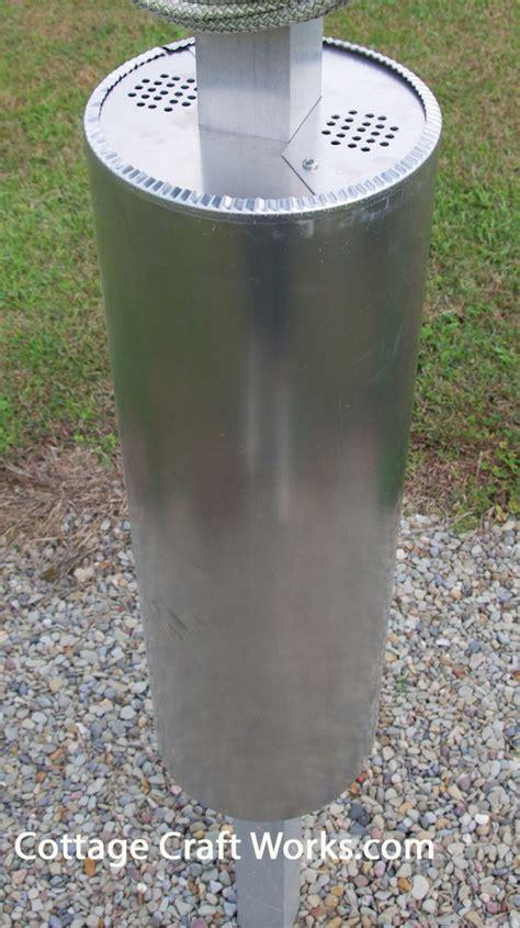 purple martin house predator pole guard