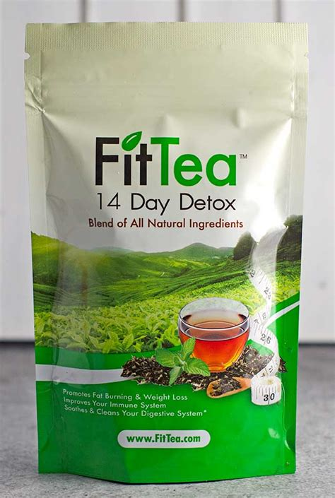 What Does Detox Tea Do For U fit tea reviews detoxing weight loss and burn