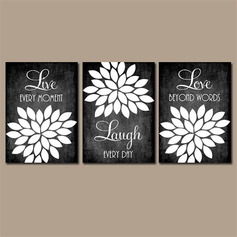live laugh love wall decor live laugh love wall art chalkboard quote kitchen wall art