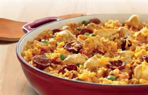 Spanish chicken amp chorizo paella recipe quick and easy