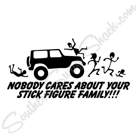 Jeep Family Stickers