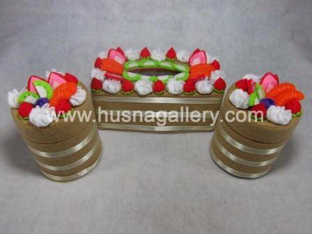 Tempat Tissue Dari Kain 1 pp 28 tempat tissue hias kain flanel coklat gallery toko