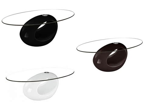 design tafel pebble salontafel pebble zwart wit of chocoladebruin